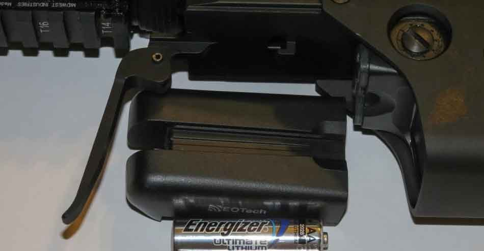 eotech battery compartment