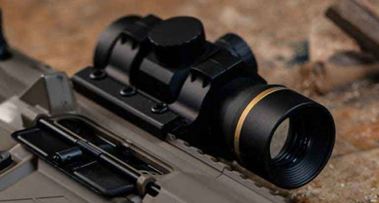 leupold freedom rds close up