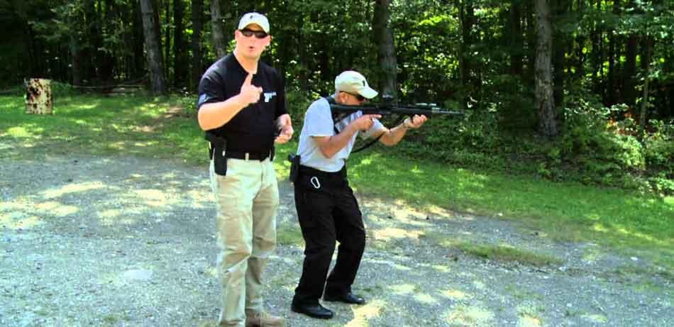 training with an AR15