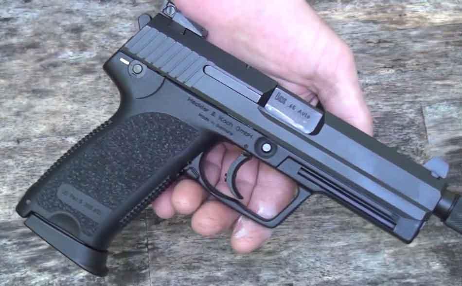 Heckler and Koch USP Tactical