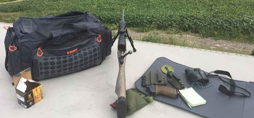 rifle range accesoroes