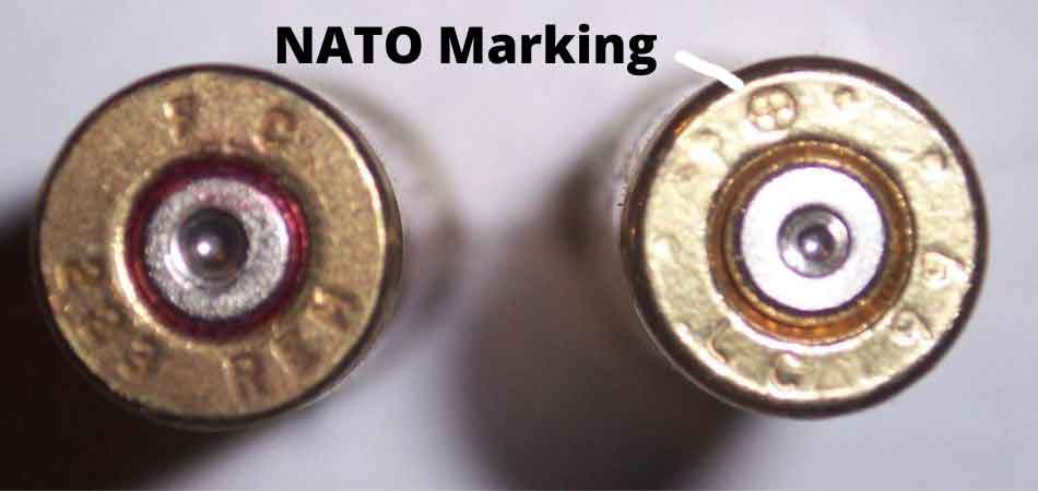a nato stamp on a 556 round