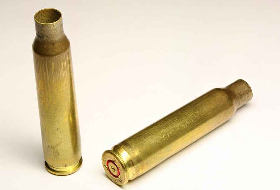 2 x 556 ammunition cases