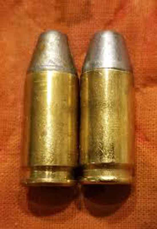 2 x 9mm rounds