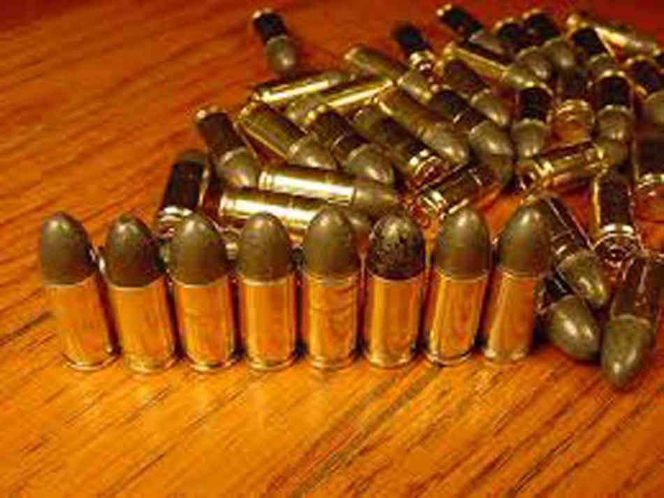 a selection of 9mm rounds