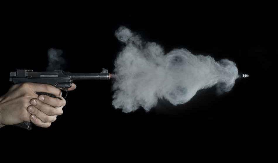 muzzle velocity, a bullet leaving a luger