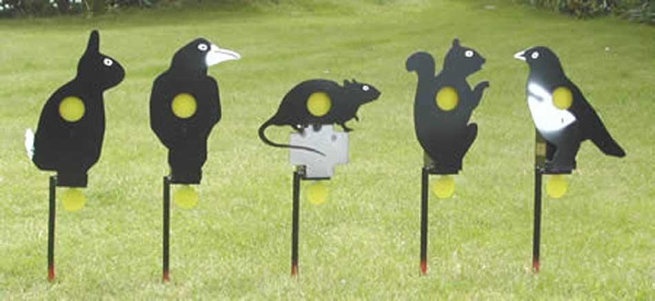 animal plinking targets