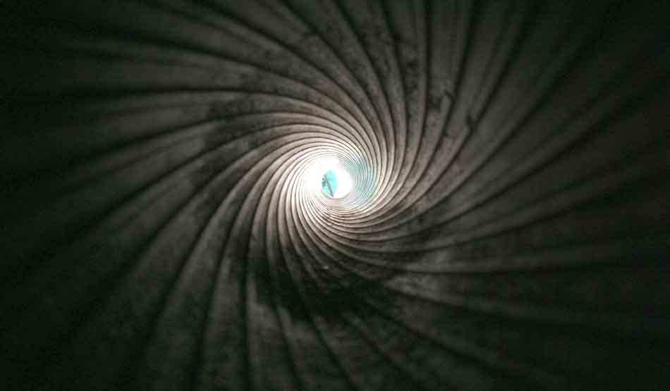 a rifle barrel showing rifling
