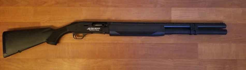 a semi auto shotgun - 12 gauge