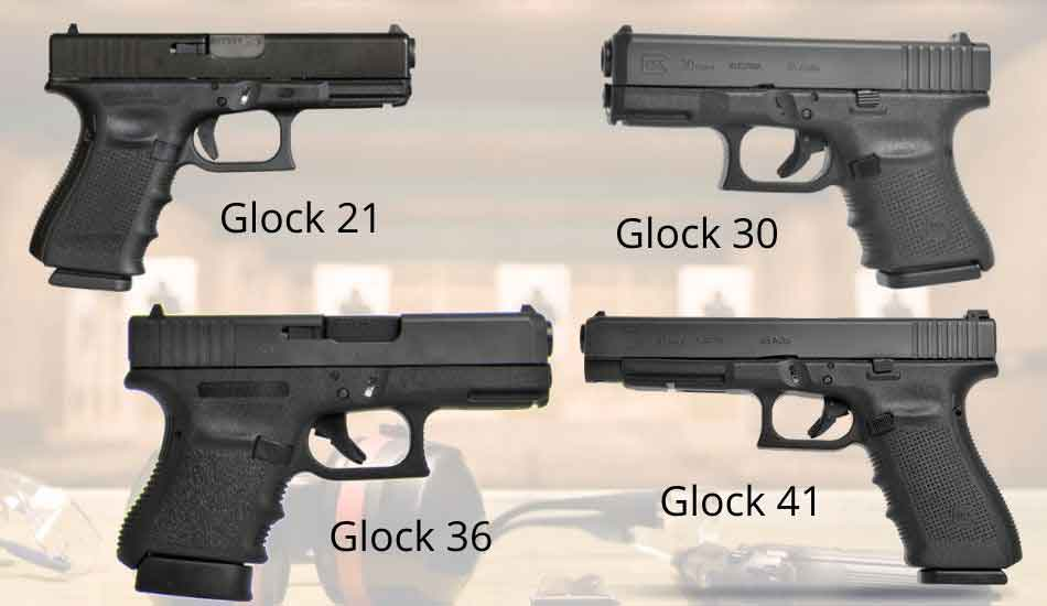 The glock 45 ACPs