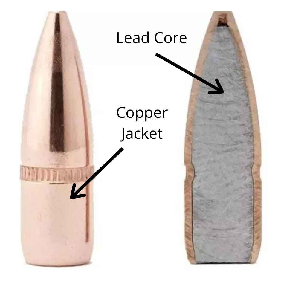 jacketed bullet diagram