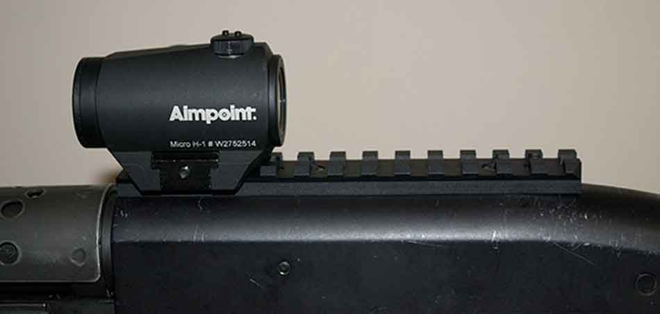 Aimpoint micro on a shotgun