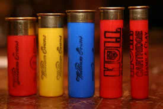 5 shotgun shells