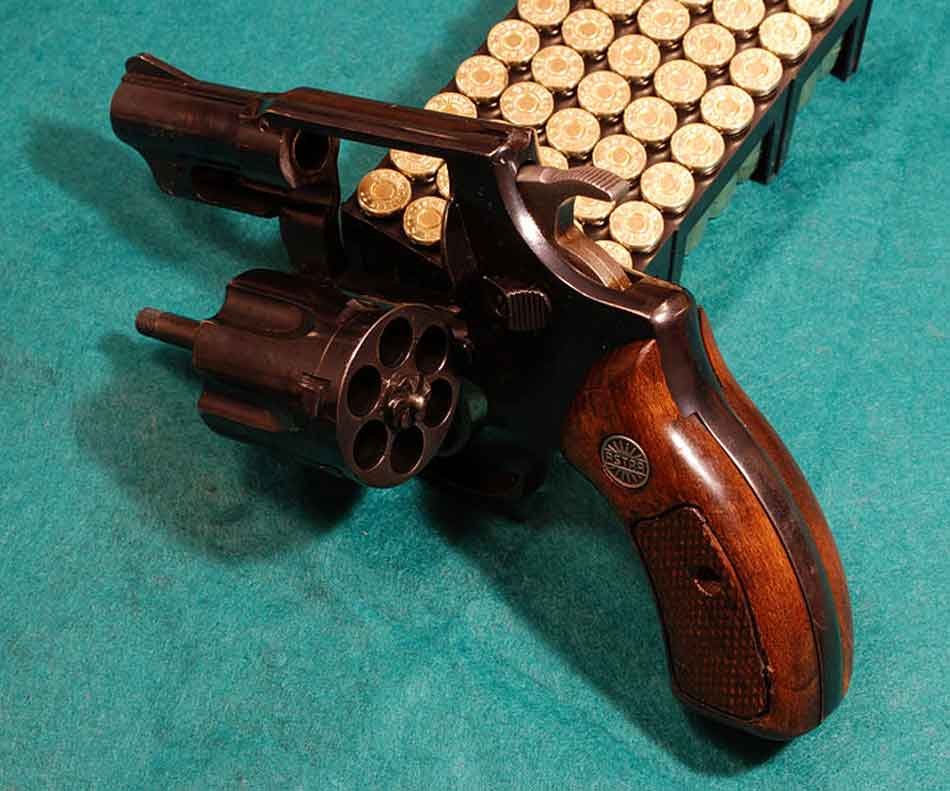 a 38 special revolver and ammunition