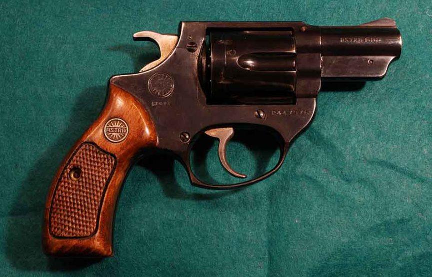 a 38 special revolver
