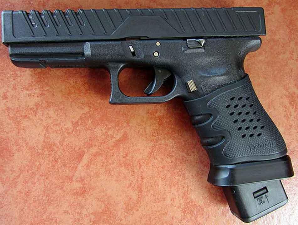 a Glock 22