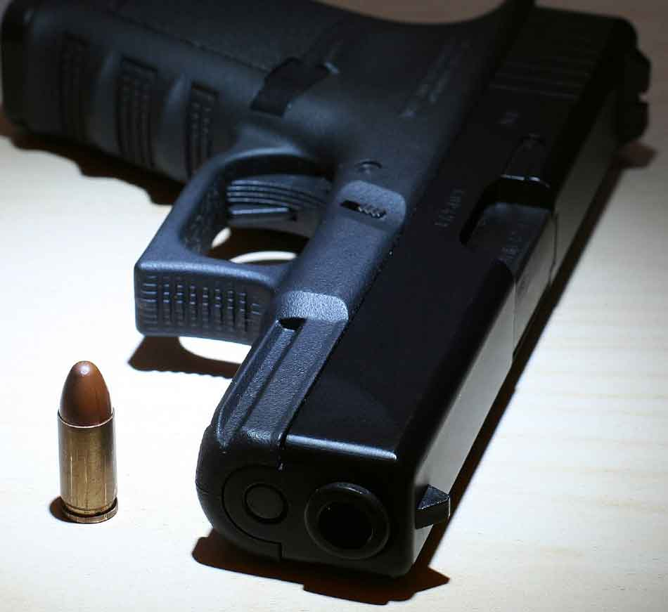 a Glock 17